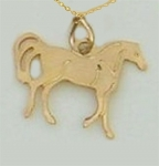 Wild Bryde Little Trotter Horse Necklace