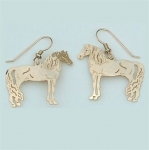 Wild Bryde Morgan Horse Earrings