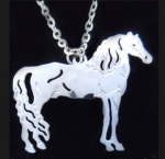 Wild Bryde Morgan Horse Necklace