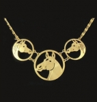 Wild Bryde Petite Horse Necklace