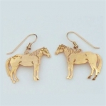 Wild Bryde Quarter Horse Earrings