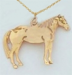 Wild Bryde Quarter Horse Necklace