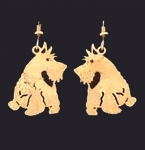 Wild Bryde Scottie Dog Earrings