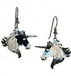 Wild Bryde Unicorn Earrings