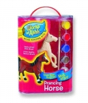 Wood Painting Kit - Prancing Horse Toy