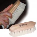 Wooden Block Tampico Brush - Med