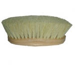 Wooden Handle Tampico Horse Grooming Brush