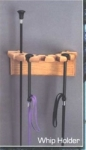 Wooden Whip Holder - Made in the USA