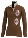 WOODLAND LONG SLEEVE POLO